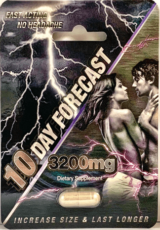 10 Day Forecast 3200mg