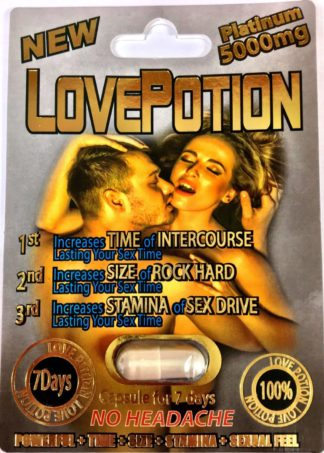 LovePotion Platinum 5000mg