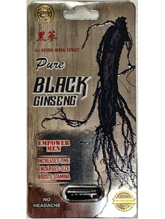 Pure Black Ginseng