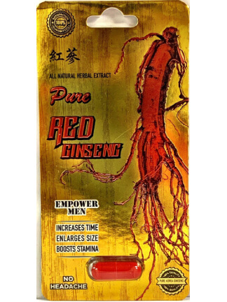 Pure Red Ginseng