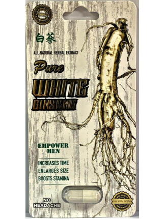 Pure White Ginseng