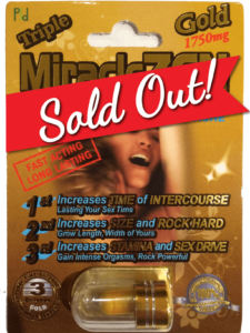 Triple MiralceZEN Gold Sold Out