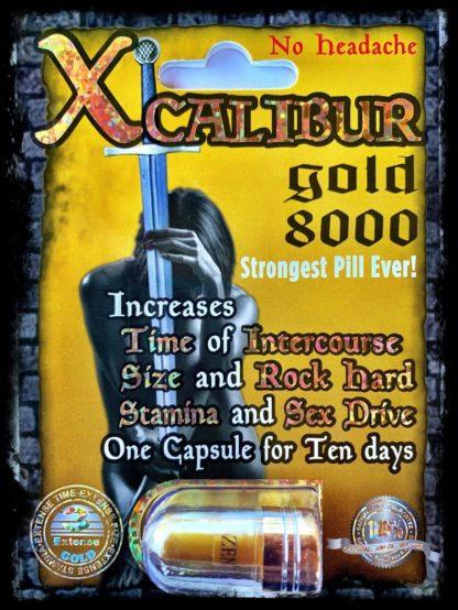 Xcalibur Gold 8000