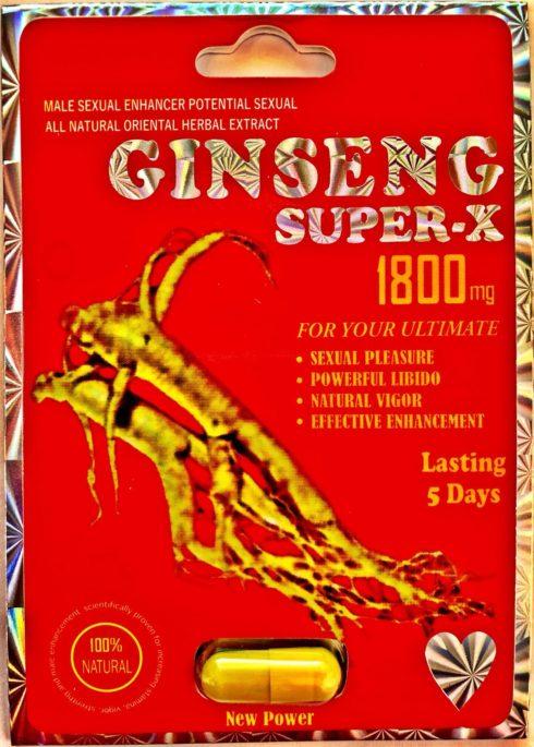 ginseng super-x