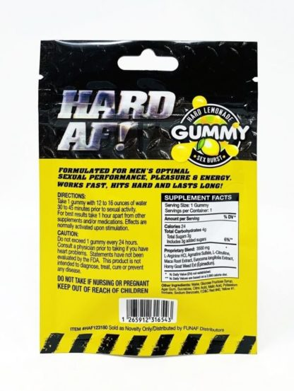 Hard AF Gummy Back