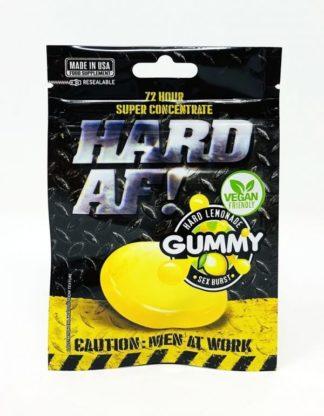 Hard AF Gummy Front