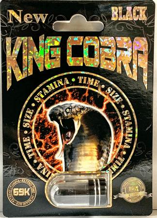 king cobra black 69k
