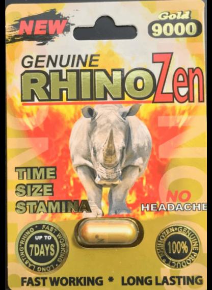 rhinozen gold 9000